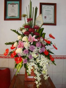 Papan Bunga  Kelapa Dua